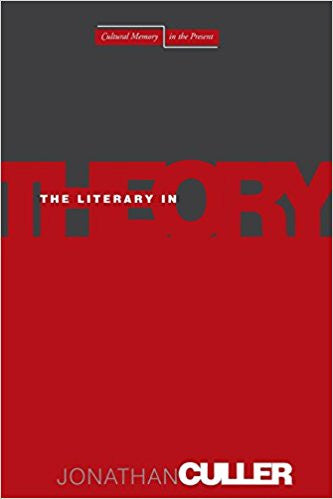 The Literary in Theory (Cultural Memory in the Present)