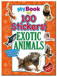 my book of 100 stickers