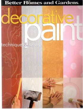 Decorative Paint Techniques and Ideas