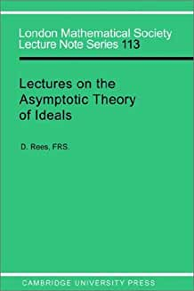 LMS: 113 Asymptotic Theory, Ideals (London Mathematical Society Lecture Note Series)