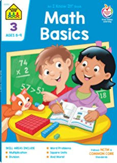 School Zone Math Basics 1 Grade 1