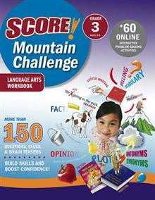 SCORE! Mountain Challenge Language Arts Workbook: Grade 3 (Ages 8-9)