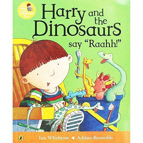 "Harry and the Dinosaurs say ""Raah"""