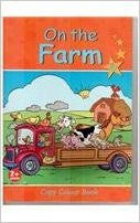On The Farm: Copy Colour Book