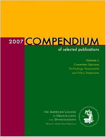 2007 Compendium Of Selected Publications