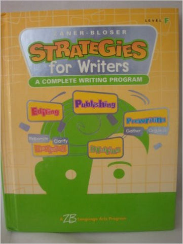 Strategies for Writers: Level F - Grade 6