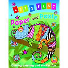 Let's Play Paper and Paste: Chameleon: Cutting, Pasting and Sticker Fun