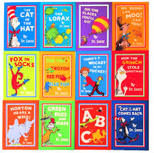 Dr. Seuss 12 book collection