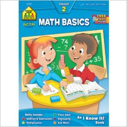 School Zone Math Basics Grade 2