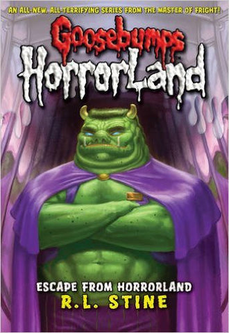 Goosebumps Horrorland Escape from Horrorland
