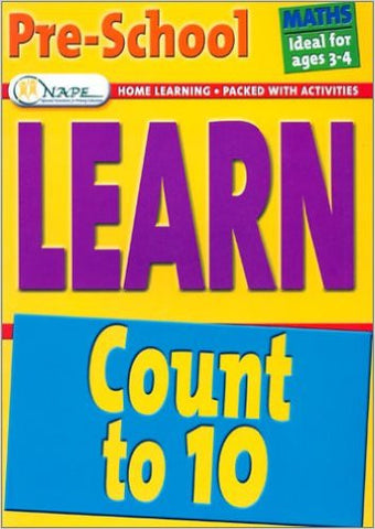 Learn Maths Pre-School Ages 3-4