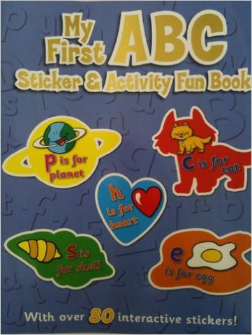 My First ABC Sticker and Activity Fun Book (Sticker and Activity Book)