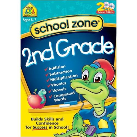 School Zone Second Grade