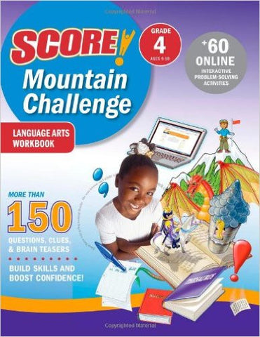 SCORE! Mountain Challenge Language Arts Workbook, Grade 4 (Ages 9-10)