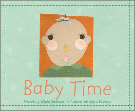 Baby Time: 20 Assorted Notecards and Envelopes (Deluxe Notecards)