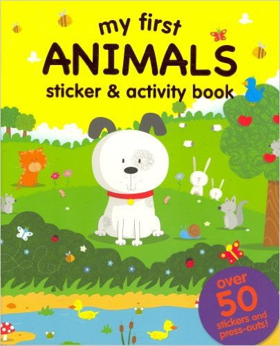 My First: Animals (Sticker and Activity Book)
