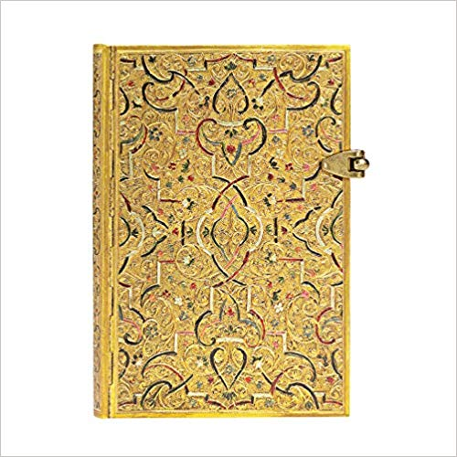 Gold Inlay Mini Lined: Hardcover