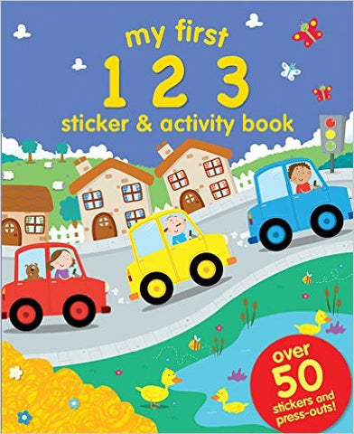 My First: 123 (Sticker and Activity Book)