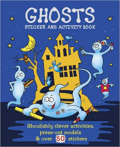 Scary Activity: Ghosts (Giant Sticker & Activity Fun)