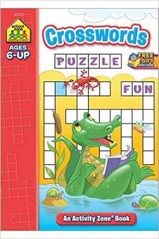 School Zone Crosswords Deluxe Activity Zone Ages 8 up