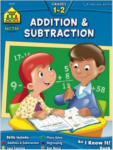 School Zone Addition and Subtraction Grades 1-2