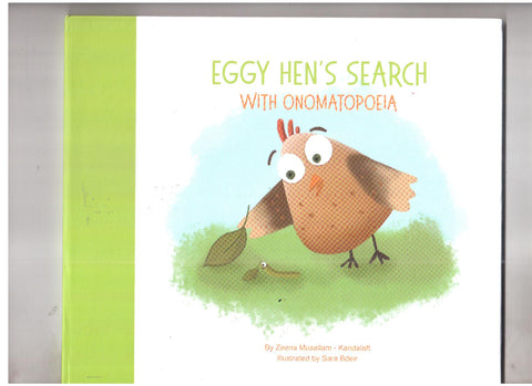 Eggy Hen`s Search with Onomatopoeia