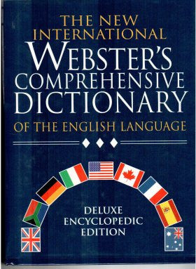 The New International Webster's Comprehensive Dictionar