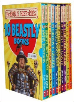10 beastly books