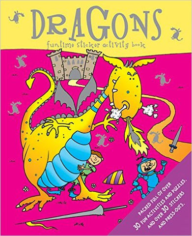 Dragon Activity Book (Sticker and Activity Book)
