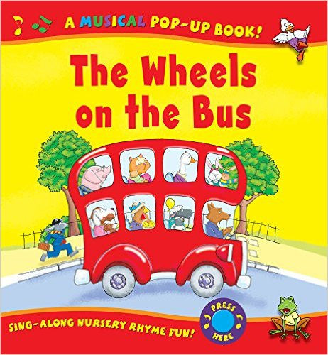 Wheels on the Bus (Igloo Books Ltd Sound Pop-Ups)