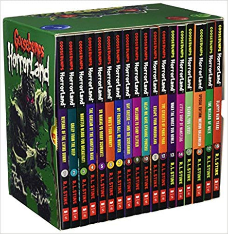 Goosebumps Horroland Box Set 18 Books