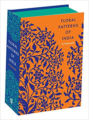 Floral Patterns of India: 16 Notecards
