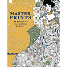 Master Prints: 34 Frame-able Masterpieces to Color