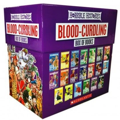 Horrible Histories: Blood Curdling Box of Books (20 Books)