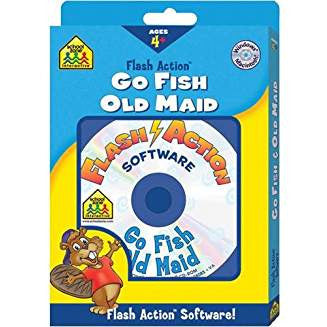Flash Action Go Fish & Old Maid
