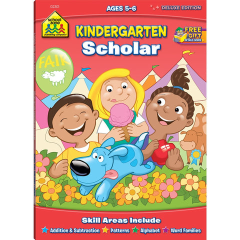 School zone Kindergarten Scholar Ages 5-6