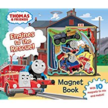 Thomas & Friends: Engines to the Rescue! Magnet Book