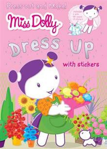 Miss Dolly Press-out and Make Dress Up: Stickers