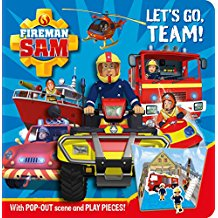Fireman Sam: Let's Go Team! Pop-out Play Book