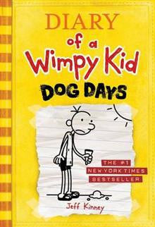 Diary of a Wimpy Kid Dog Days Book 4