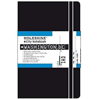 Moleskine City Notebook Washington DC