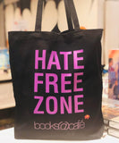 hate free zone bags black & white>                 </a>               </li>                         </ul>                </div>     </div>   </div>    <hr class=