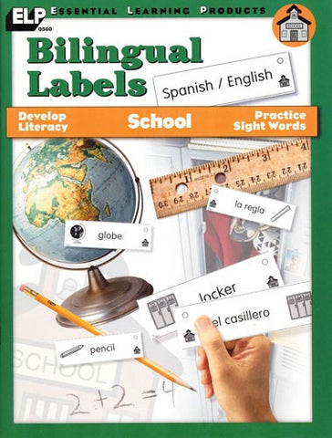Bilingual Labels - School Set