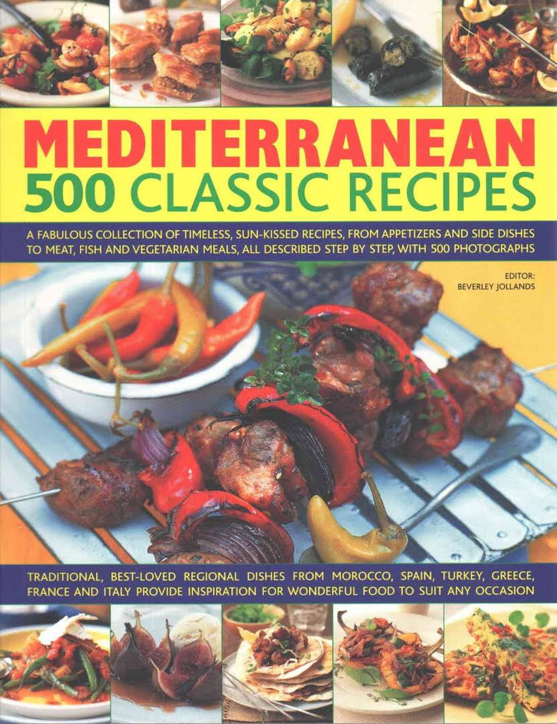 500 Best-Ever Recipes: Mediterranean
