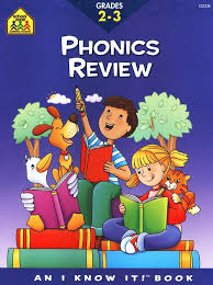 School Zone Phonics Review Workbook Grades 2-3