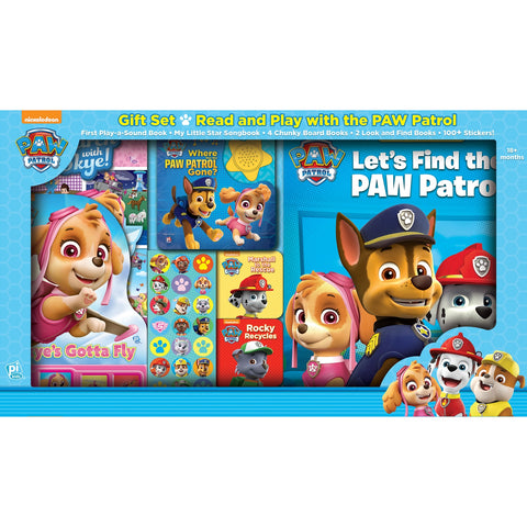 Paw Patrol Read and Play Gift Set by PI Kids