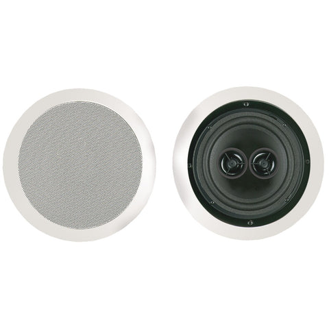 "Bic America 6.5"" Muro Dual Voice-coil Stereo Ceiling Speaker"