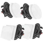 "Pyle Home 6.5"" Bluetooth Ceiling And Wall Speakers 4 Pk"