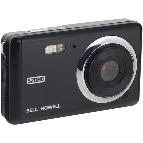 Bell+howell 20-megapixel 1080p Hd S20hd Digital Camera (black)