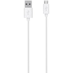 Belkin Mixit? Tangle-free Micro Usb Charge & Sync Cable 4ft (white)